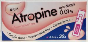 low dose atropine